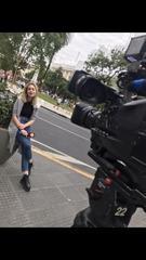 Maia Komerovsky, cronista de TV, nos habla de su trabajo