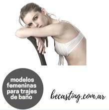 Solicitamos modelos femeninas para trajes de baño