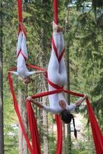 Se precisa profesor o profesora de acrobacia aérea en tela nivel avanzado para taller anual en Avellaneda