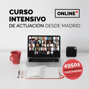 Participá del sorteo por un Curso Intensivo Online de Interpretación y Actuación