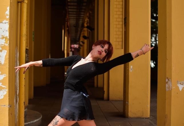 Sofía, una verdadera apasionada de la danza