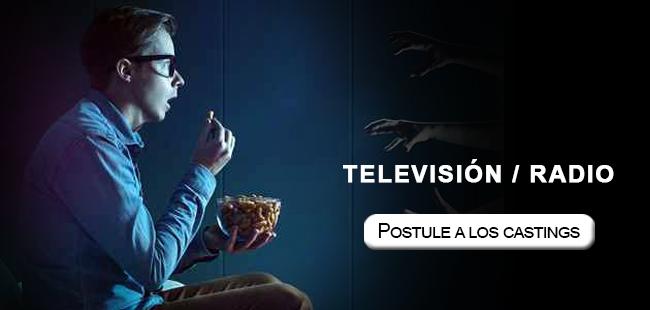 television postule a los castings