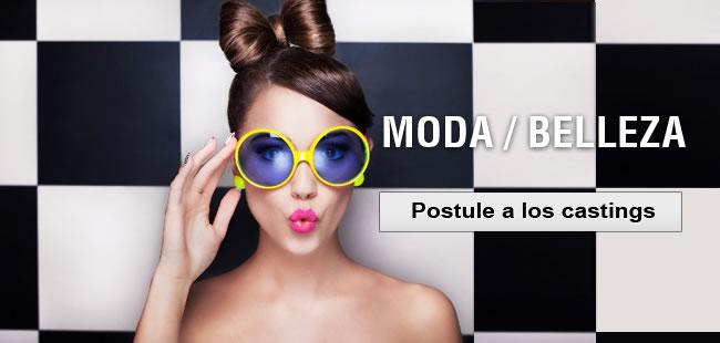 moda, postular al casting
